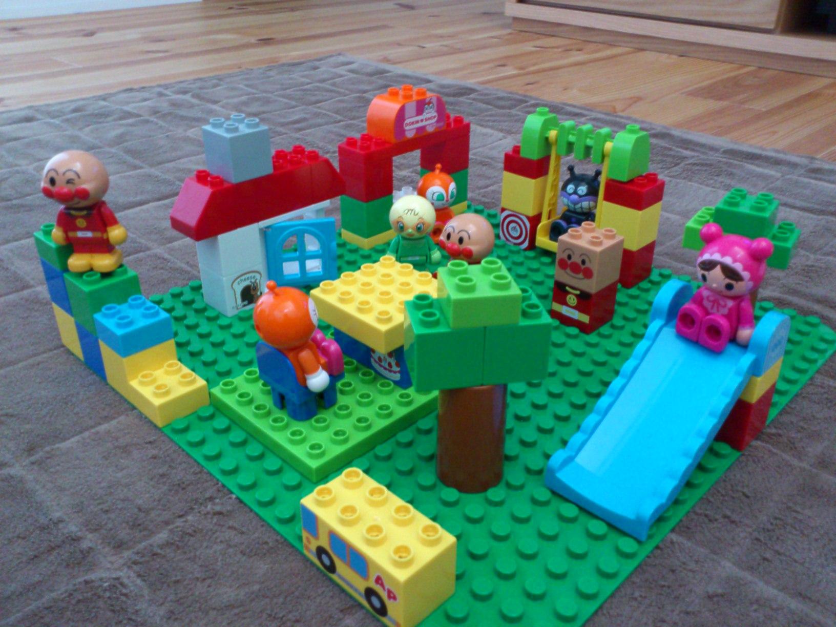 アンパンマン ブロック レゴ